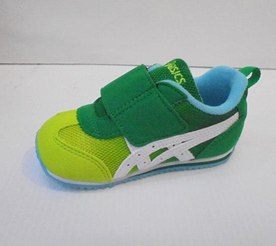 [陽光樂活]ASICS 亞瑟士 綠X萊姆綠 童鞋 IDAHO BABY GR-ES 2  TUB159-89GR