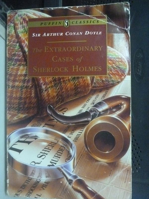 【書寶二手書T3/原文小說_LOF】The Extraordinary Cases of Sherlock Holmes