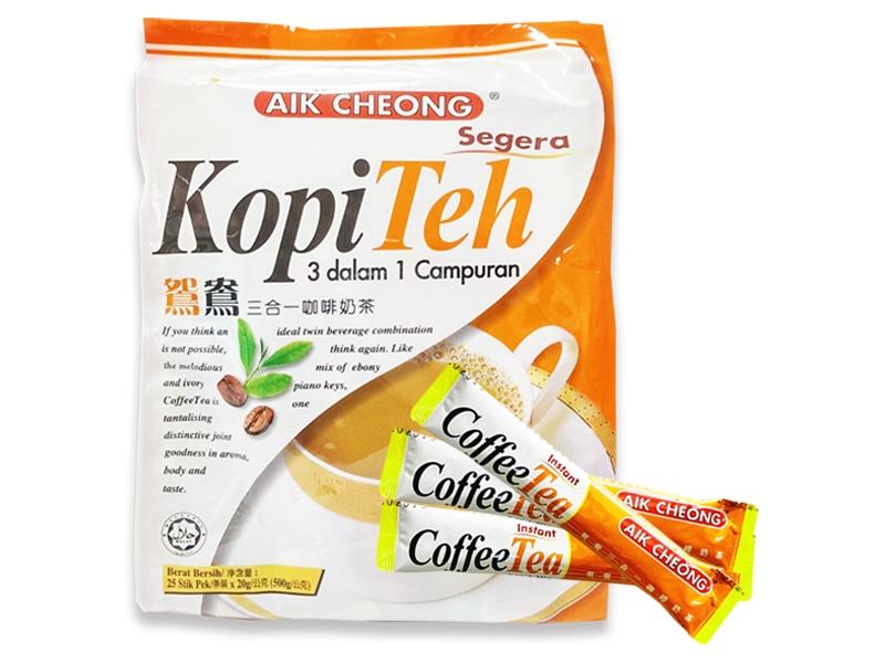 馬來西亞進口 益昌 鴛鴦咖啡奶茶(20gx25入,即期特賣品)