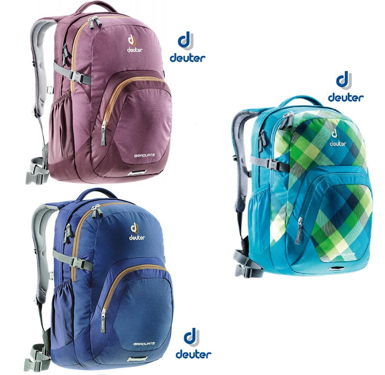 【露營趣】中和 送贈品 Deuter 80232 GRADUATE休閒背包28L/登山背包/自助旅行包