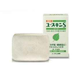 Yuskin 悠斯晶S 紫蘇透明皂 潔顏皂 90G/個◆德瑞健康家◆