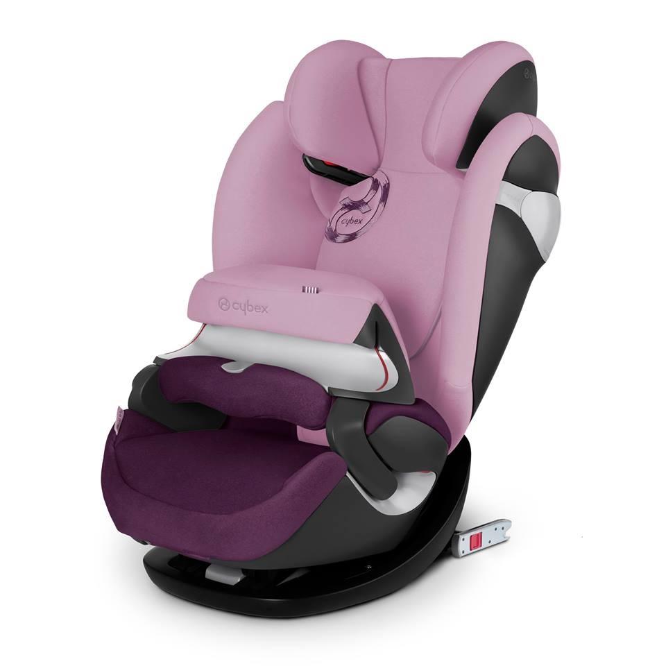 德國【Cybex】Pallas M-FIX 汽車安全座椅 (1~12歲) -公主粉