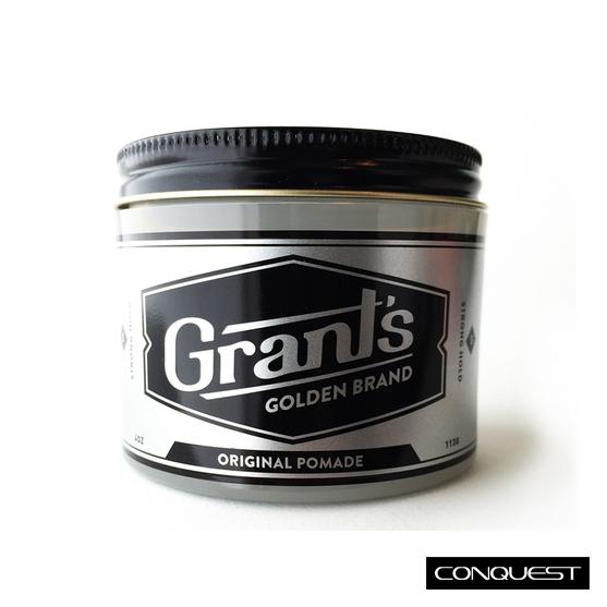 Grant's Golden Brand Original Pomade 水洗式髮油 強力定型 衝浪 滑板 極限運動專用