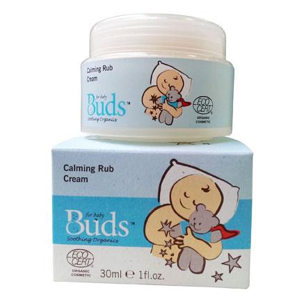 【悅兒樂婦幼用品館】Buds 芽芽有機【日安系列】舒緩按摩霜 30ml