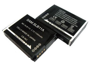 SAMSUNG SLB-11A/SLB11A 副廠鋰電池 Samsung數位相機專用 EX1【B1328】