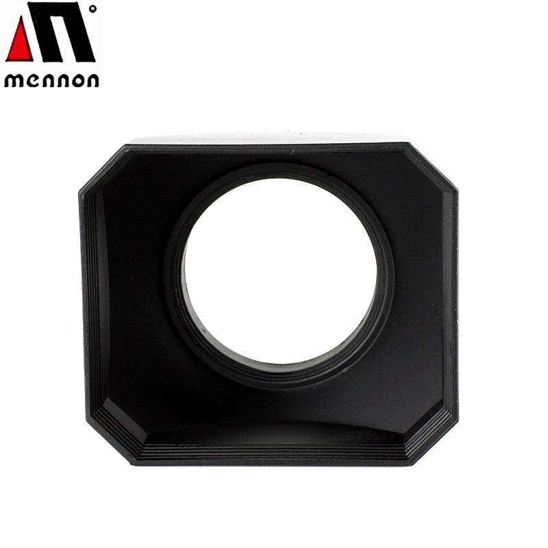 又敗家@美儂Mennon 4:3長方型遮光罩43mm螺紋遮光罩43mm螺牙遮光罩43mm遮光罩43mm太陽罩43mm遮陽罩四比三長方型遮光罩矩形遮光罩矩型遮光罩lens hood 適Canon EF-M 22mm f/2.0 STM Olympus ZD 25mm f/2.8 PEN-F 38mm 40mm 70mm 100mm f1.4 f1.8 f3.5 Samsung NX 16mm f/2.4 20mm F2.8 30mm F2.0 Voigtlander 35mm F1,4 Nokton