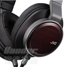 【曜德視聽】JVC HA-SW02 耳罩式耳機立體聲 木質振膜WOOD02 ★免運★送收納盒★