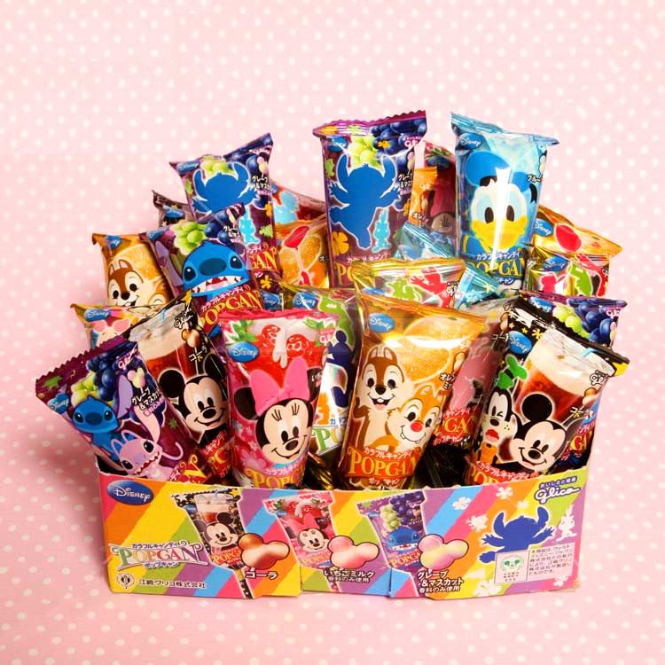 日本Glico★ 固力果迪士尼棒棒糖★ 可愛氣球包裝 [JP45166143] 千御國際