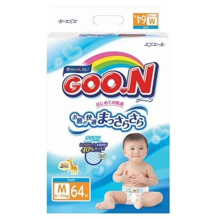 日本大王 境內版 紙尿褲 尿布 M64 片/包