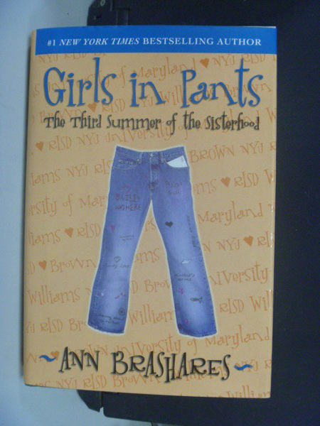 【書寶二手書T4/原文小說_NMF】Girls in Pants: The Third Summer