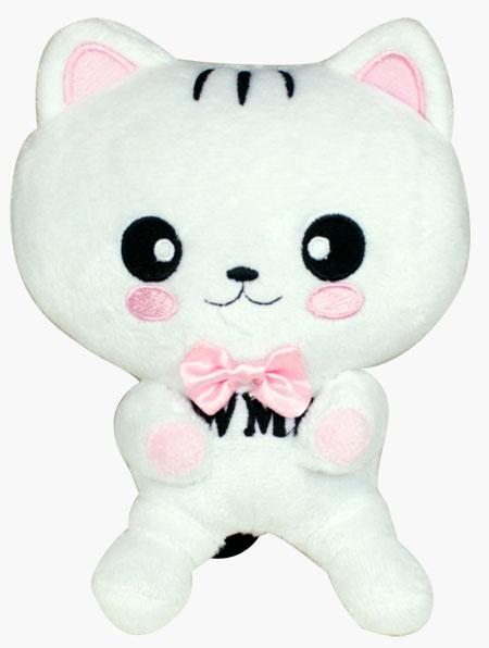 咪寶絨毛玩具-白色