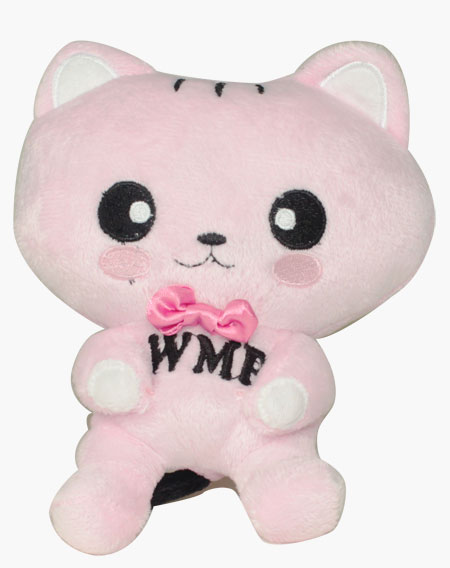 咪寶絨毛玩具-粉色