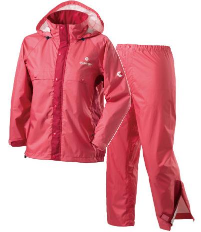 Caravan 兒童雨衣/小朋友雨衣/登山雨衣雨褲套裝組 AirRefineLite Jr 0100902 253珊瑚紅