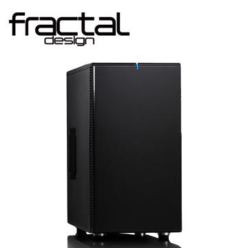 【迪特軍3C】瑞典FD DEFINE-Mini黑 Fractal Design DEFINE Mini 靜音機殼 (永夜黑)