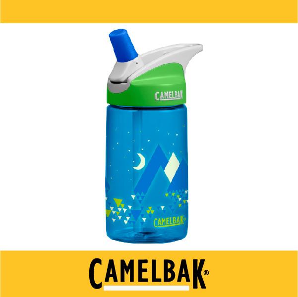 萬特戶外運動-CamelBak 美國補水專家 2016新品 400ml兒童吸管運動水瓶 CB54175 不溢漏 專治不愛喝水的小孩 (寧靜雪山)