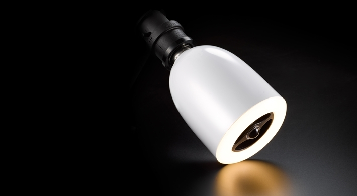 《育誠科技》『blueberry Music light - LED(大)』燈響1號/藍牙燈泡喇叭/藍芽音響揚聲器/另售JBL Spark 鐵三角 AT-SP03BT