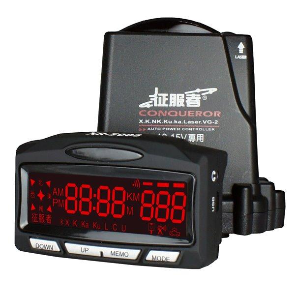 《育誠科技》『征服者XR-5008』VCO雷達GPS測速器/自動靜音抗干擾//另售RCO-7008H