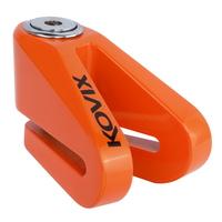 《育誠科技》『KOVIX KV1 橘色』碟煞鎖/送原廠收納袋+提醒繩/5mm鎖心/一般車通用款/另售鋼甲武士機車大鎖
