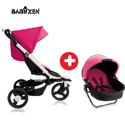 法國【BABYZEN】ZEN 0+ 手推車 (含睡箱)