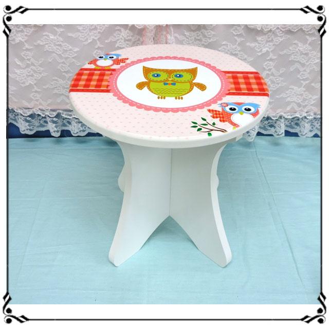 木製小椅子《WA10》ZAKKA貓頭鷹小圓凳 小凳子 木製座椅 木凳 穿鞋椅 露營椅 兒童椅◤彩虹森林◥