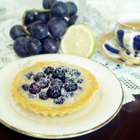 【Le Joyau 樂珈歐】藍莓杏仁塔 (直徑10cm)