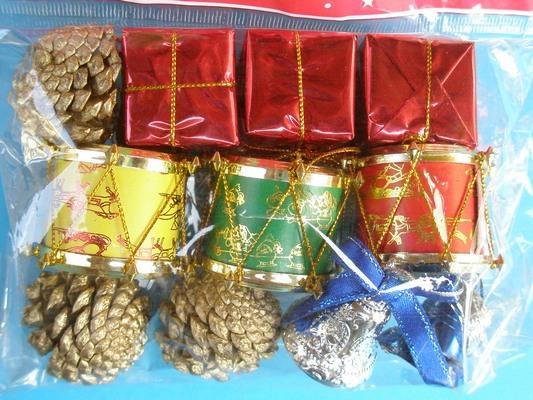 聖誕飾品 聖誕節吊飾/綜合包 (1.2.3.4號小包裝/混款)/一小包入{特39}