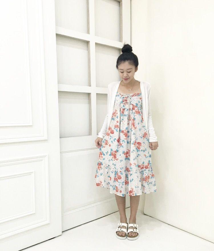 夏季度假長洋裝-2 colors
