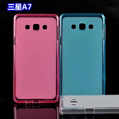 ☆三星 Galaxy A7 A7000 布丁套清水套Samsung A7 a7000 透明矽膠軟殼 手機軟套保護殼【清倉】