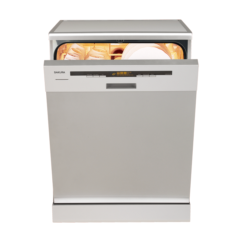 (櫻花)半嵌入式洗碗機-E7680