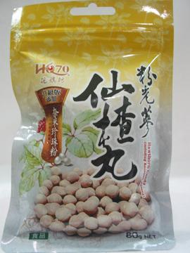 花旗坊~粉光蔘仙楂丸(升級版) 80公克/包