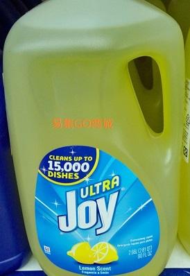 易集GO商城- 代購~ULTRA JOY 濃縮洗碗精-檸檬清香(每瓶2.66L)-183868