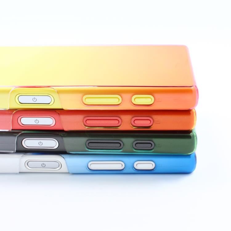 ☆內哥的配件☆ Sony Z5 Compact - 彩色 - 漸層手機保護殼