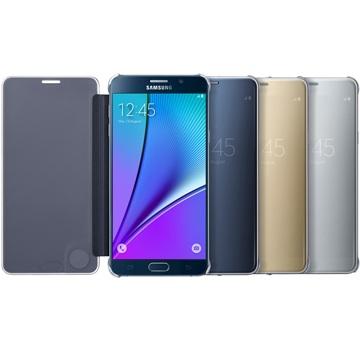 原廠皮套 全透視感應皮套 Clear View Samsung Galaxy Note5/手機殼【馬尼行動通訊】