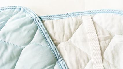 涼感纖維枕頭套  冷感素材快速分散熱氣 肌膚接觸清涼 個人份  淺藍 69cm*43cm