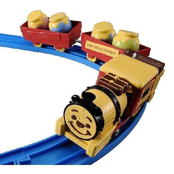 【真愛日本】14041800009 森林蒸氣機關車遊園火車-維尼  迪士尼小熊維尼  玩具車 正品 限量