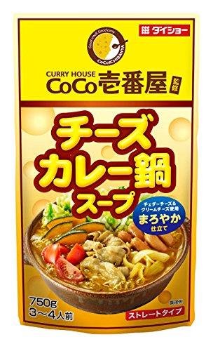 有樂町進口食品 CoCo壹番屋起司咖哩鍋湯底 4904621042080