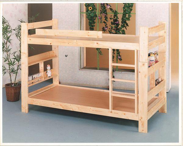 【石川家居】OU-659-1 目松3.5尺雙層床 (不含其他商品) 需搭配車趟