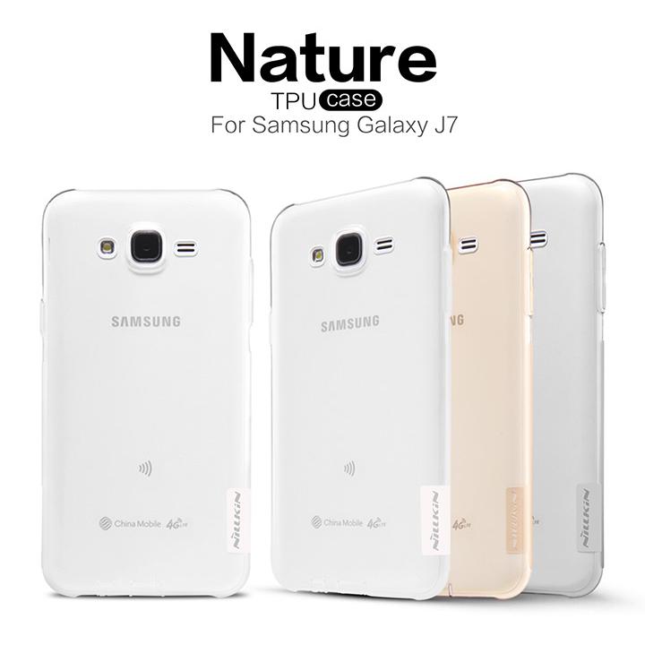 NILLKIN 超薄 Samsung Galaxy J7 J700 三星 本色系列 TPU 軟套 軟殼 果凍套 透色套 保護套 保護殼 手機套 手機殼 軟套 背殼 禮品 贈品/TIS購物館