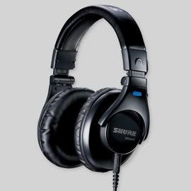 志達電子 SRH440 美國 SHURE 耳罩式 監聽耳機 (富銘公司貨) 門市開放試聽!