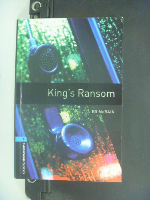 【書寶二手書T5/語言學習_NBR】King's Ransom: 1800 Headwords _Ed McBain
