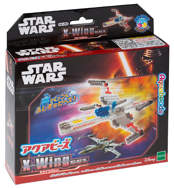 日本 EPOCH STAR WARS 星際大戰 X翼星際戰機 水串珠(補充包) AQ-242