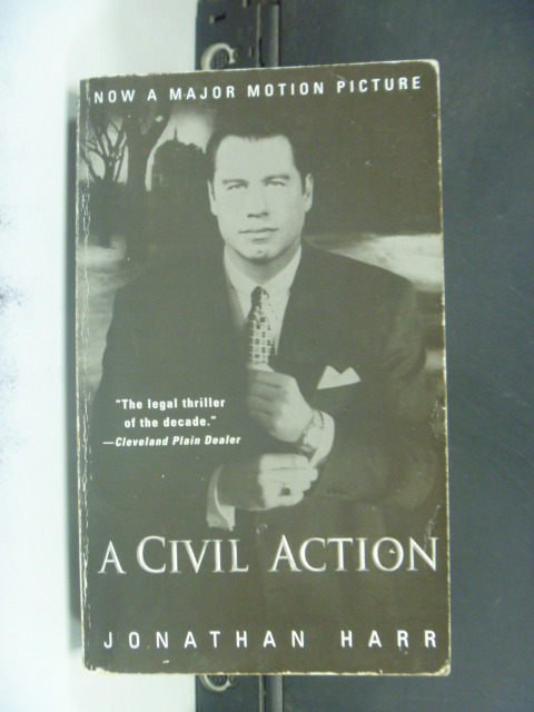 【書寶二手書T5/原文小說_JOP】A Civil Action_Jonathan Harr