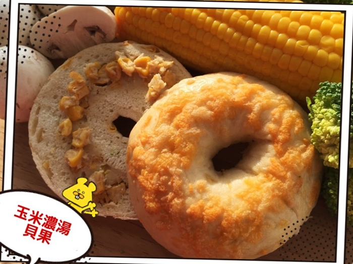 《Milky Cookie》玉米濃湯貝果    1入