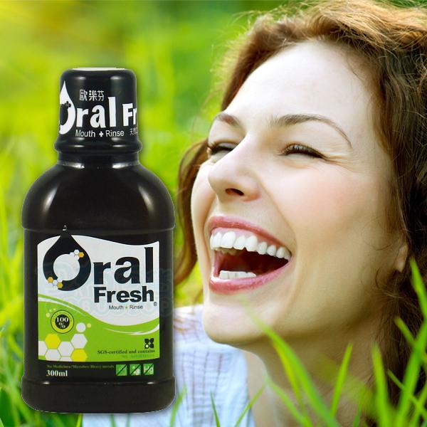 oral fresh 歐樂芬 天然蜂膠口腔保健液(300ml)【巴布百貨】