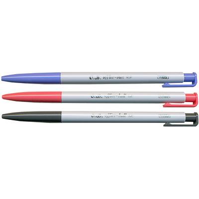 【文具通】OB 王華 Office Ball 1005 0.5自動原子筆 紅 A1010886