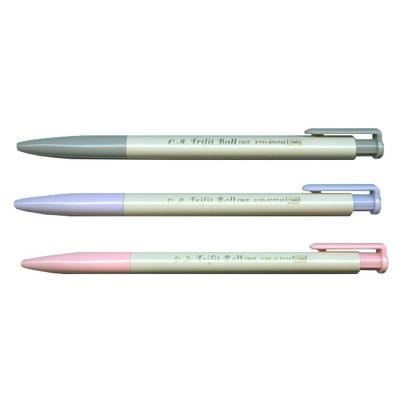 【文具通】OB 王華 300 0.7三角自動原子筆 黑 A1011060