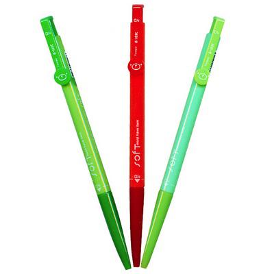 【文具通】TEMPO 節奏 B-103C 0.4粉彩中油筆 藍 A1011408