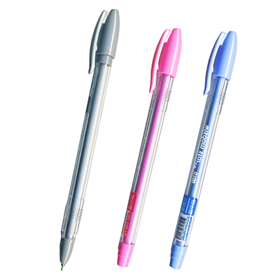 【文具通】聖得文曲星G-100鈦中油筆 紅 A1011490