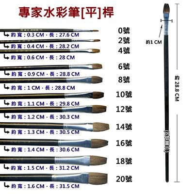【文具通】A專家10號水彩筆[平] A1060196