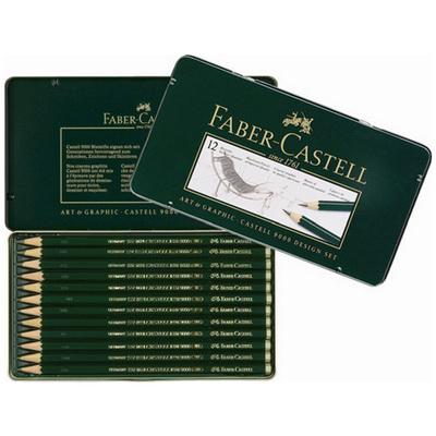 【文具通】Faber-Castell 輝柏 2H-8B 藝術家9000素描鉛筆創作組合119065 A1110110